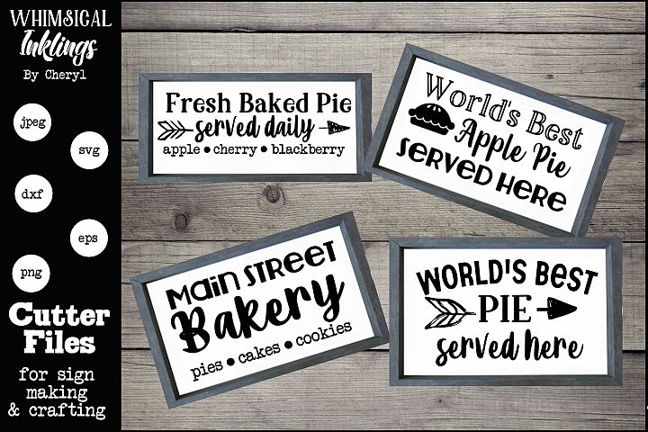 The Bakery Collection SVG Set