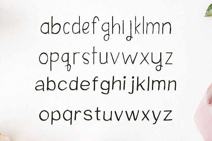Damean Handmade Duo Font example image 3