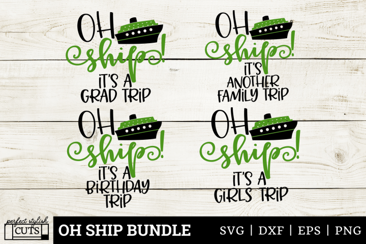 Cruise SVG - Oh Ship SVG Bundle