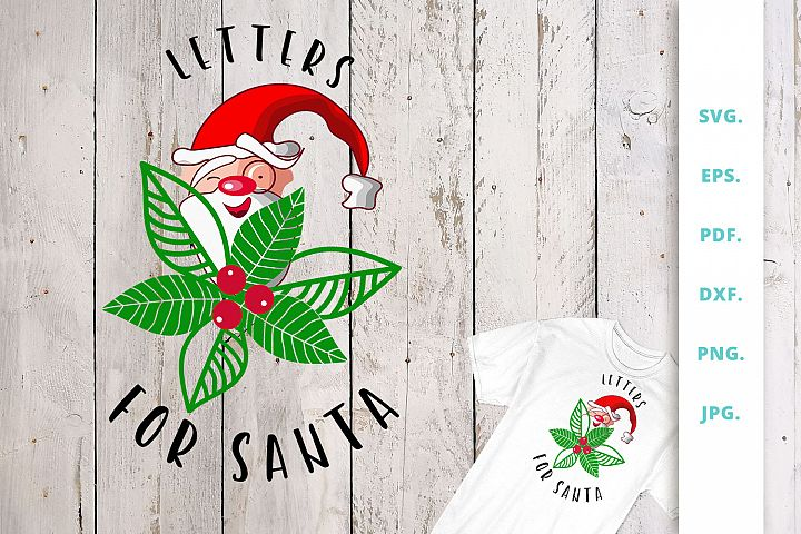 Letters For Santa SVG | DXF