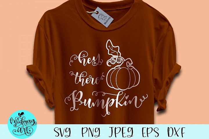 Hey there pumpkin svg, fall svg