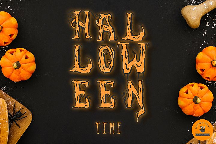 Halloween Alphabet - Free Design of The Week Design 2