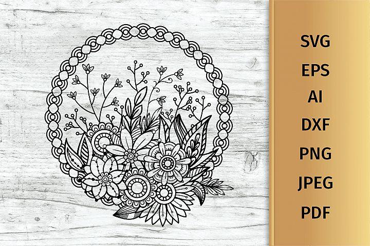 Floral Bouquet svg