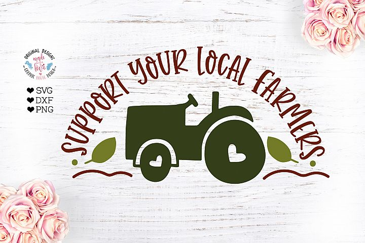 Support Your Local Farmers - Farm Cut File