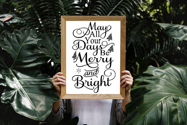 16 Christmas Quotes SVG Design Bundle