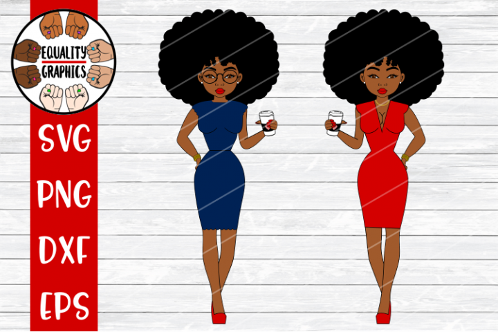Ms Sharon Work and Going out Attire| SVG | DXF | EPS | PNG