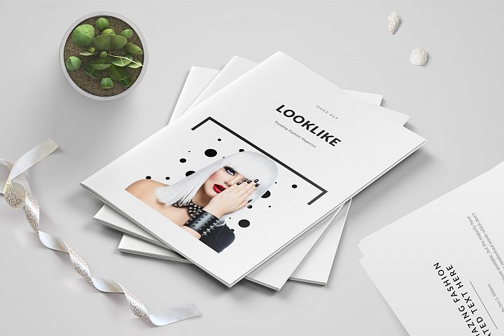 Fashion Magazine/Lookbook Template
