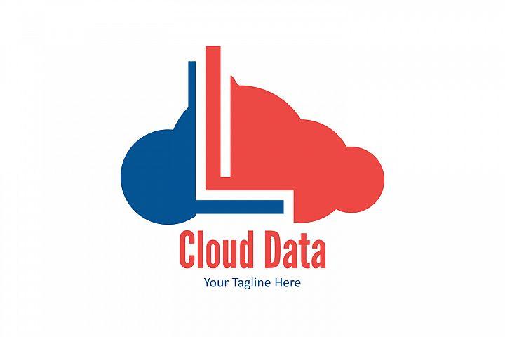 L letter cloud logo