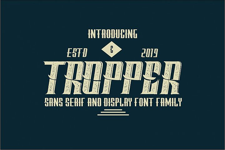 Tropper - 10 Elegant Fonts