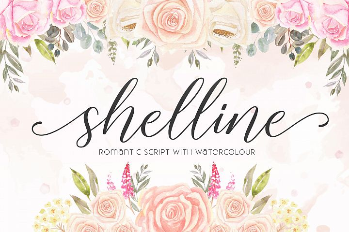 Shelline - Romantic Script