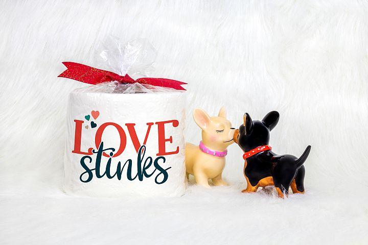 Love Stinks- An Anti - Valentine's Day SVG example 2