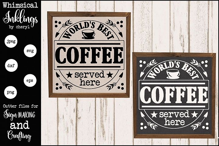 Fresh Roasted Coffee SVG
