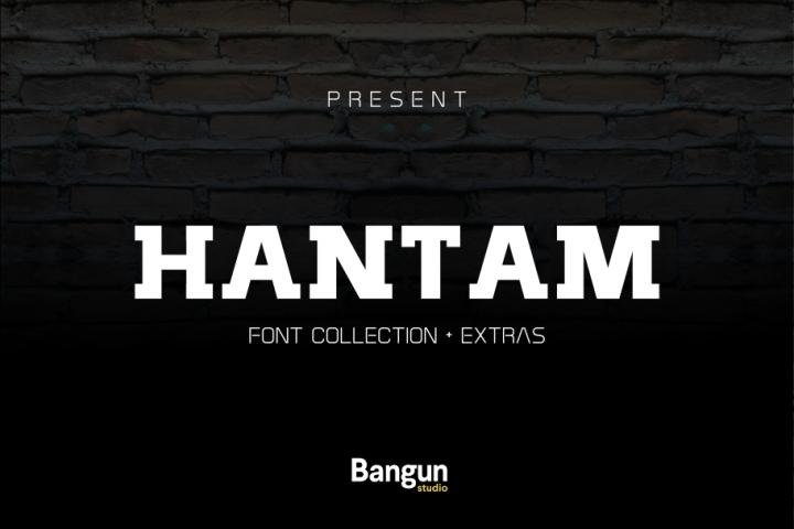 Hantam Font