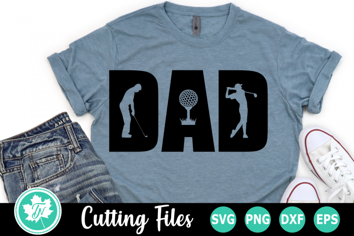 Dad Golf - A Fathers Day SVG Cut File