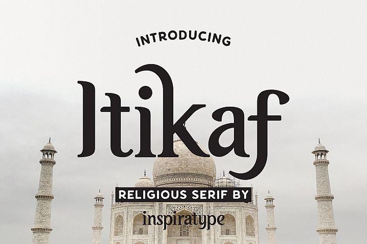 Itikaf - Religious Serif Font