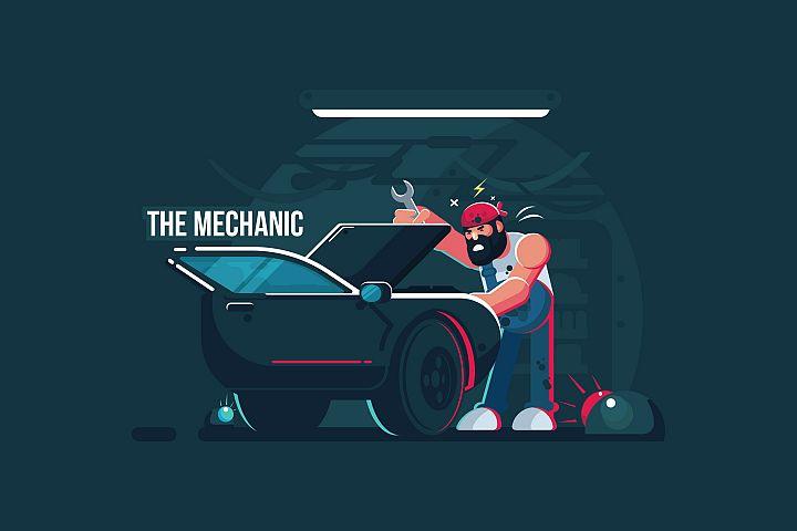 The Mechanic - Vector Activity
