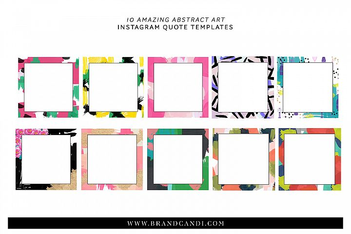 Abstract Art Templates