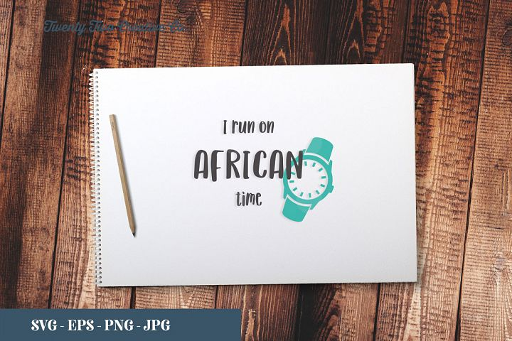 African Queen - SVG, EPS, PNG, JPG
