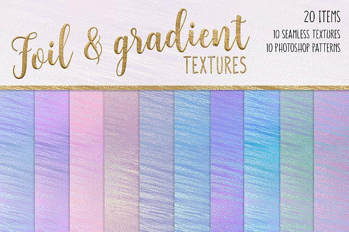 Foil and Gradient Textures