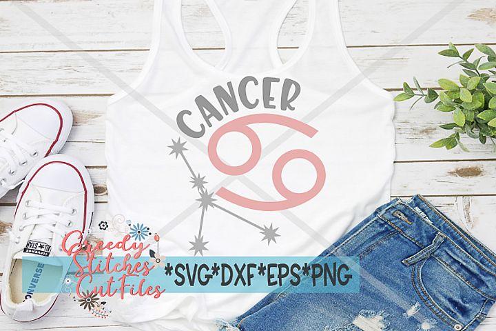 Cancer Zodiac Astrological SVG DXF EPS PNG