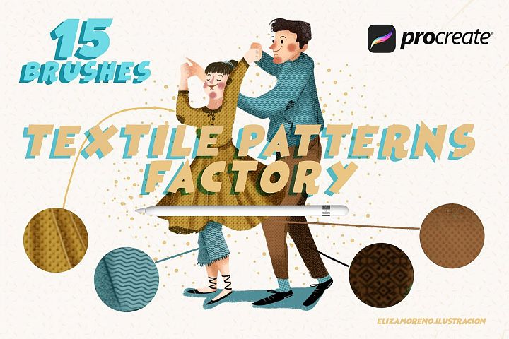 Textile Patterns Factory Procreate