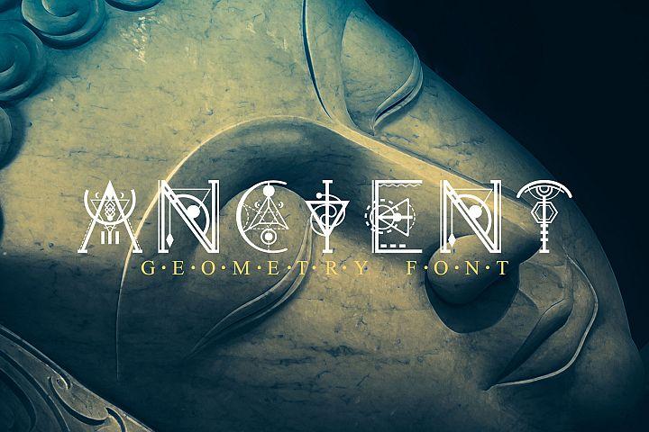 Ancient-Geometry font