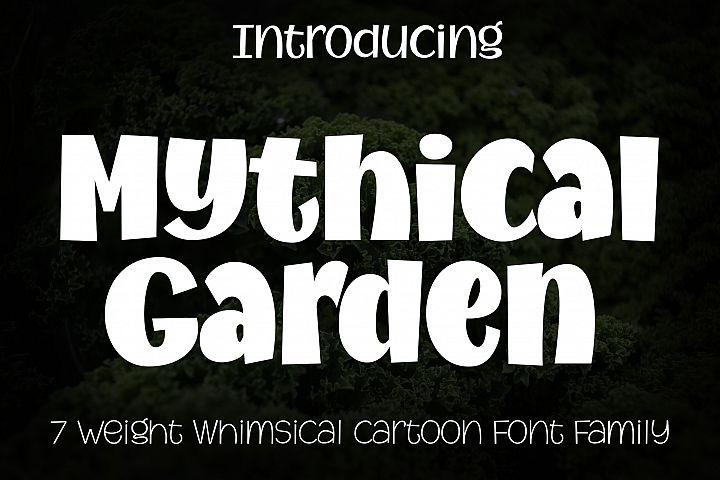 Mythical Garden Font Family