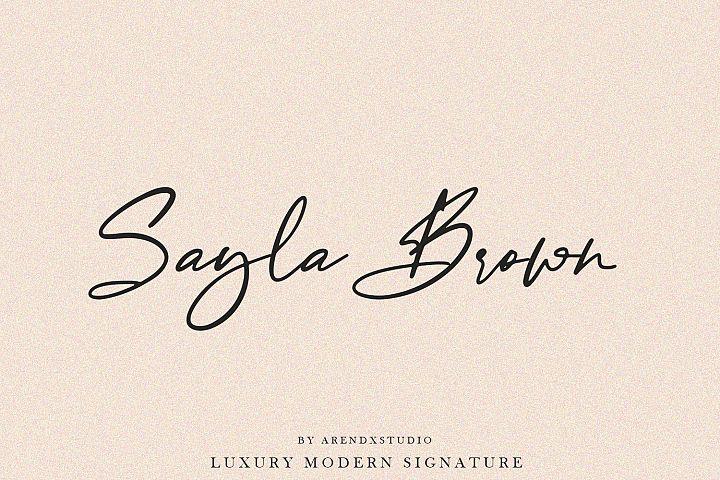 Baekrajan Luxury Modern Signature example image 4