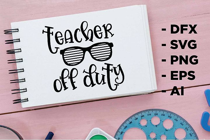 teacher off duty Printable