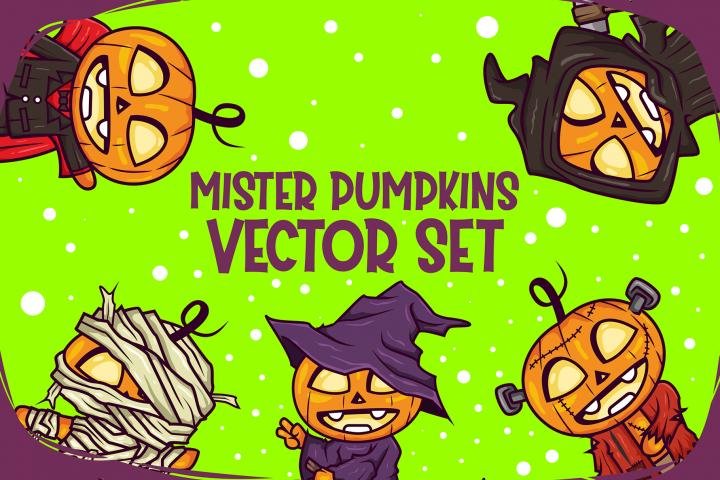 Mister Pumpkins Vector