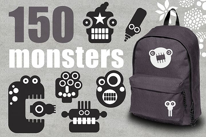 150 monsters patterns