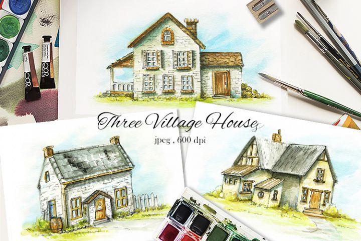 Three Village Houses