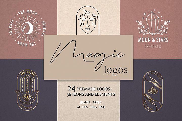 Magic logos