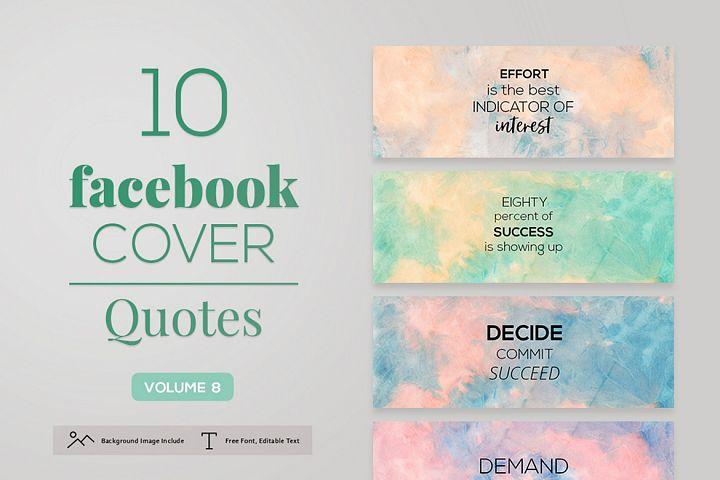 Facebook Cover Quotes Vol. 8