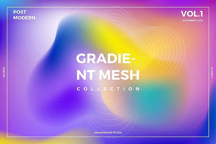 Gradient Mesh Collection Vol. 1