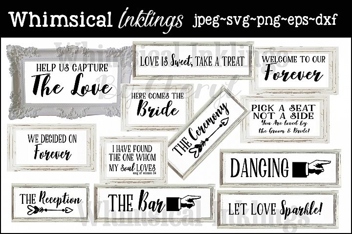 Wedding Bells SVG Bundle