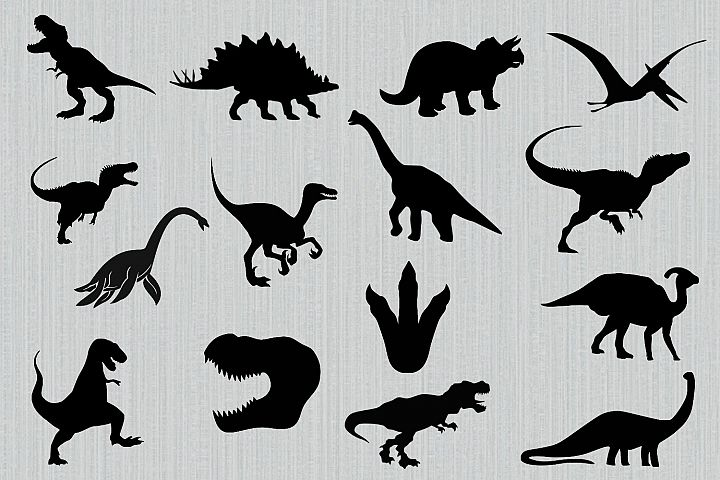 Dinosaur svg bundle, dinosaur clipart, dinosaur dxf, trex svg, cutting files for cricut and silhouette, png, dxf