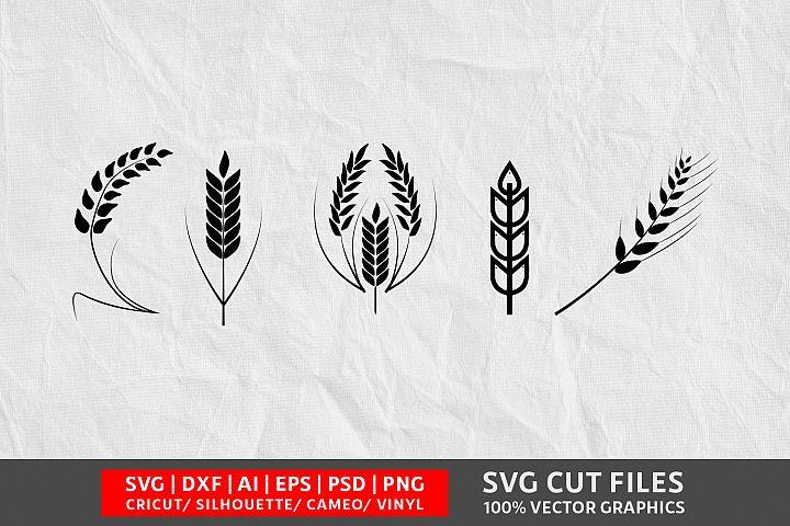 Wheat SVG Cut File