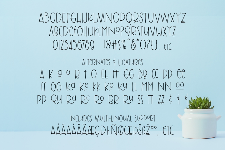 Brolly Fight, an off kilter font - Free Font of The Week Design8