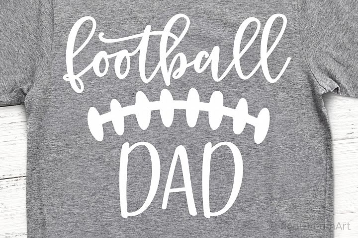 Football Dad SVG, DXF, PNG, EPS