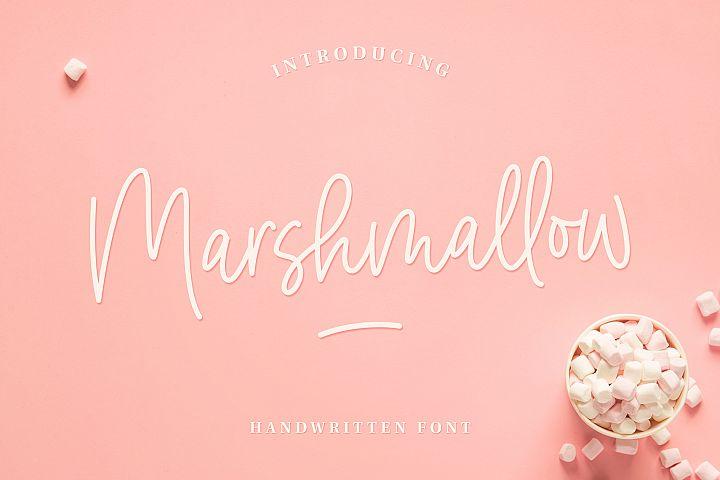 Marshmallow Handwritten Font