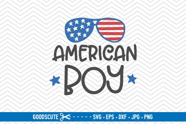 American Boy | 4th of July - SVG DXF JPG PNG EPS