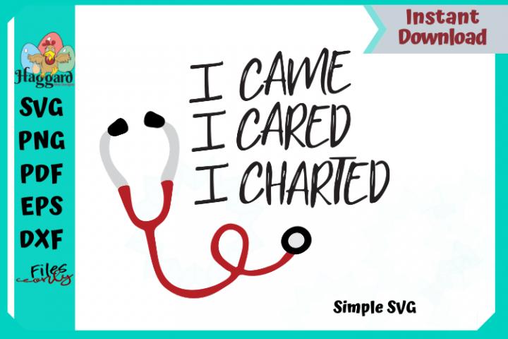 I came, I cared, I charted