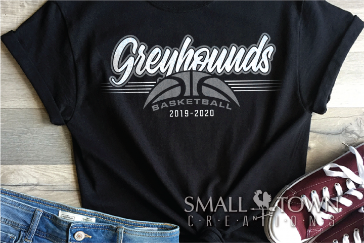 Greyhound, Basketball, Sport, Design, PRINT, CUT, DESIGN