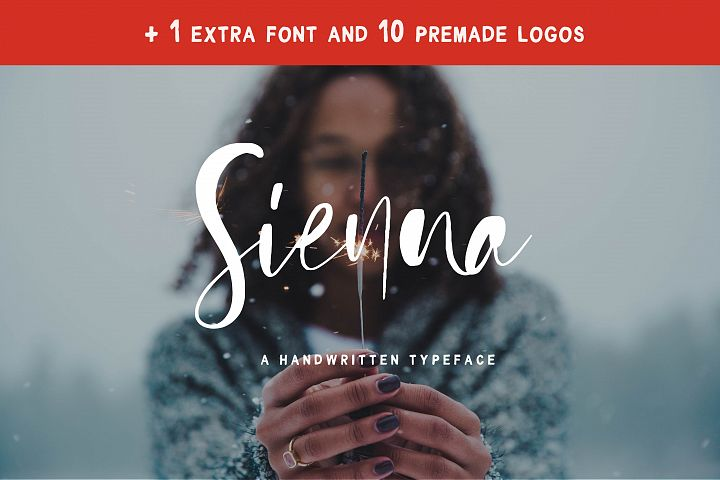 Sienna Signature Font + Extras