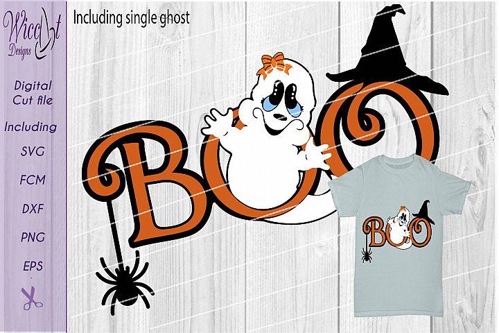 Ghost svg, Halloween svg, Girl ghost svg, little ghost svg,