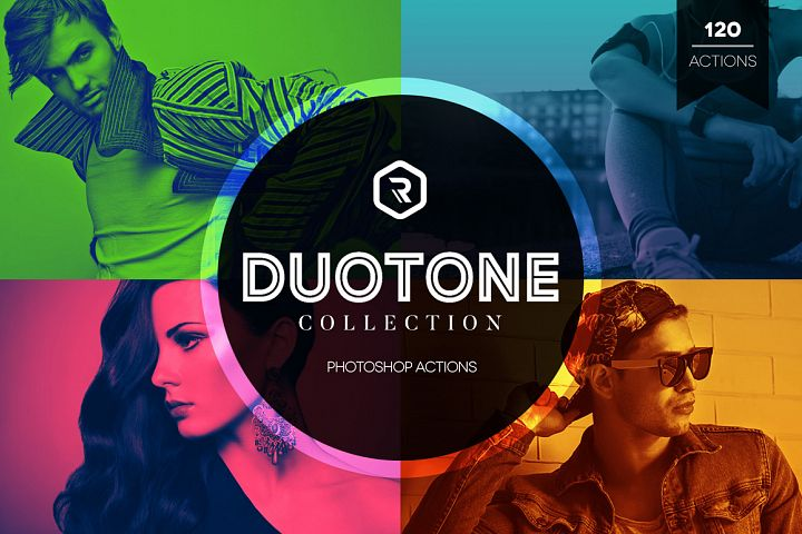Duotone Collection Photoshop Actions
