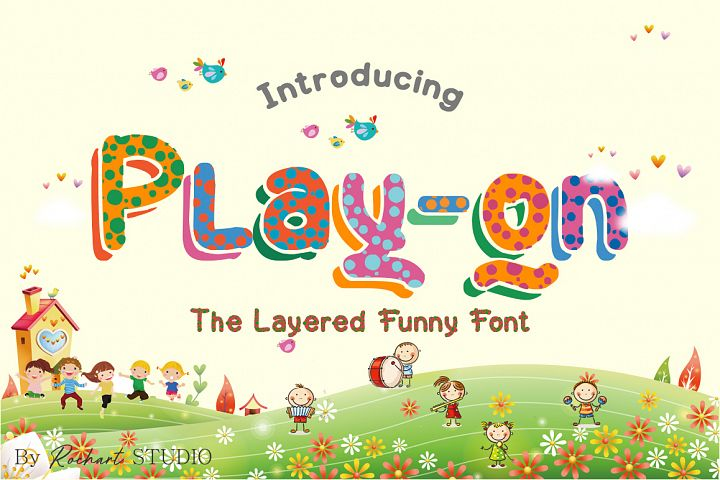 Play-on || UPDATE with Layered Font