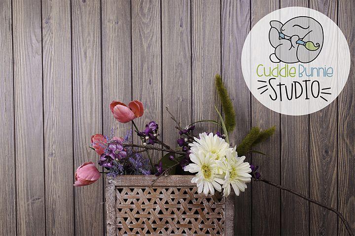 Spring Background Photography | Flower Basket Themed