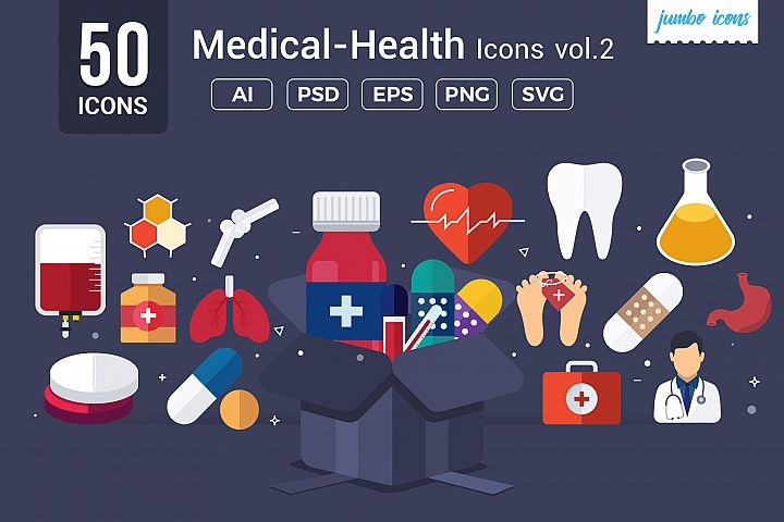 Medical / Health Vector Icons V2